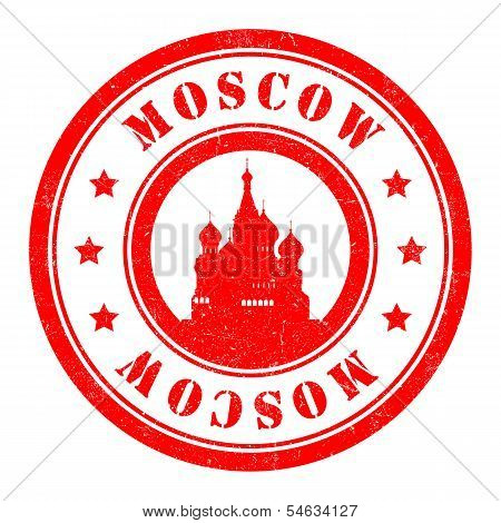 Stamp of Moscow