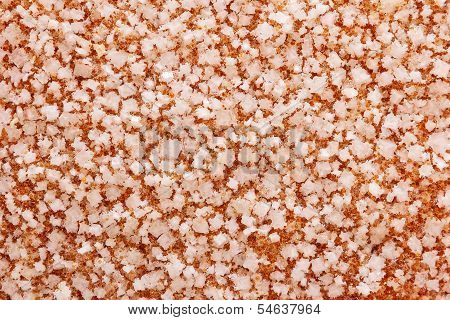 Surface With Large Crystals Of Salt