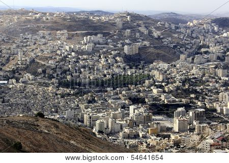 Nablus, the Biblical City of Shechem
