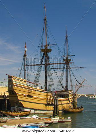 Mayflower ship