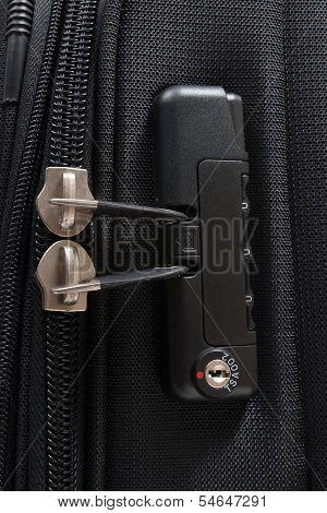 TSA accepted luggage lock