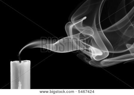 Erloschen Kerze