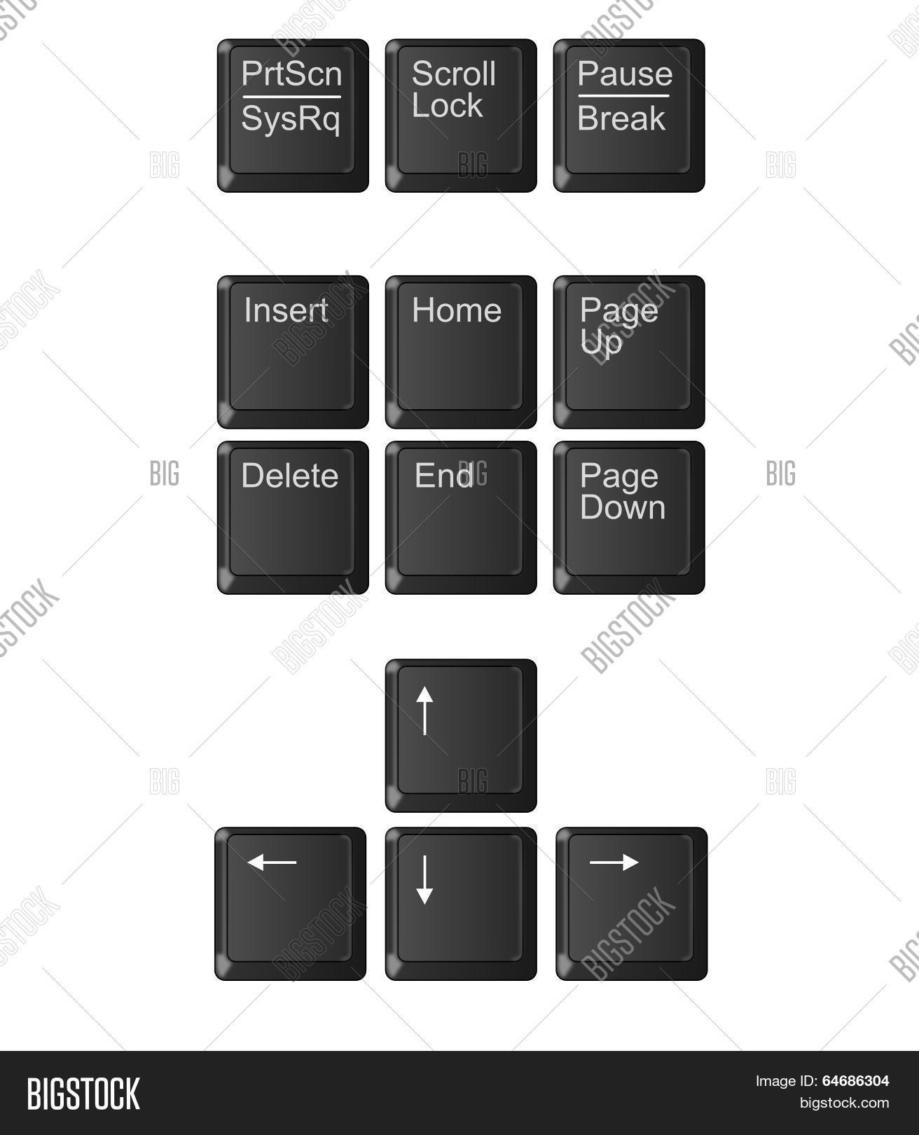 Computer Keyboard Image & Photo (Free Trial) | Bigstock