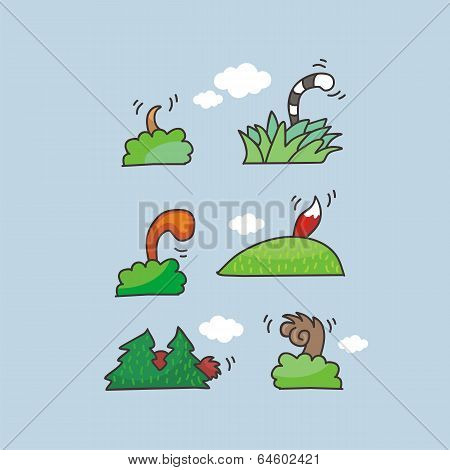 Animal Tails Set