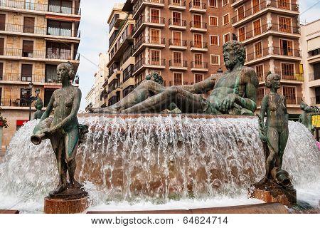 Fountain in Valencia