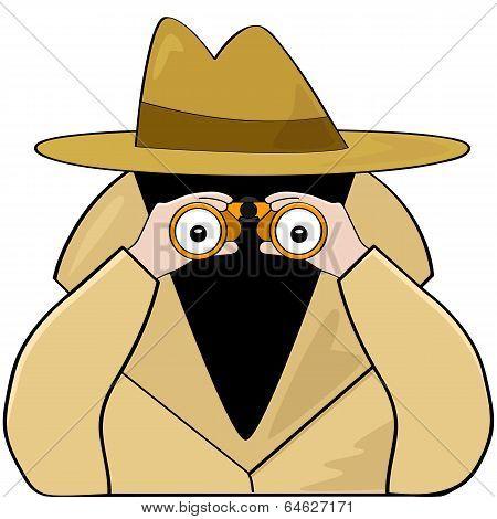 Binoculars Spy