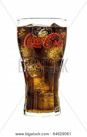 Coca-Cola Branded Glass