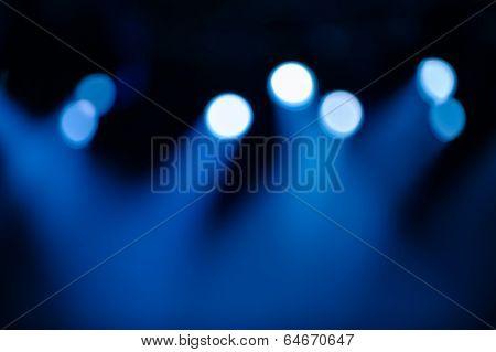 Defocused Stage Illumination