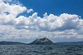 Taal - the smallest in the world volcano Manila Philippines poster