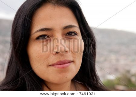 Attractive Latin Woman
