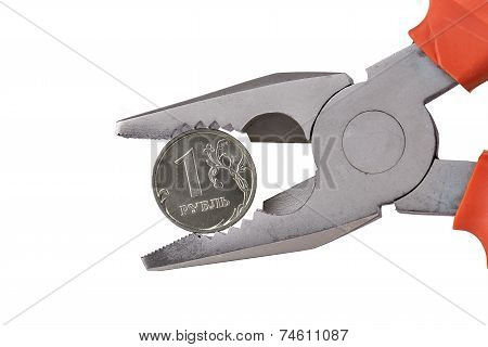 Pliers Ruble Coin