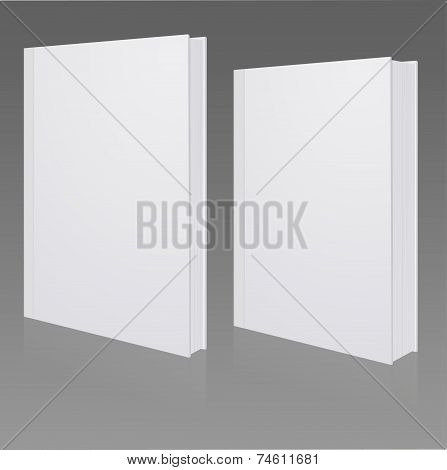 Blank Book Cover, Hardcover, Fine Or Coarse Book,