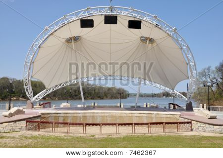 Modern Amphitheater Stage