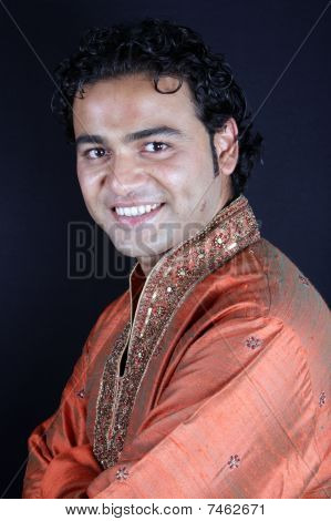Handsome Indian Groom