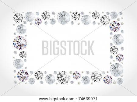 Diamond �frame
