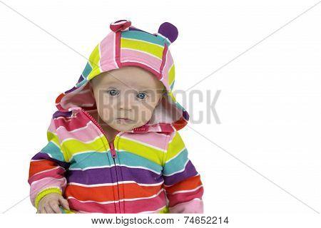 Six Month Baby Girl Portrait