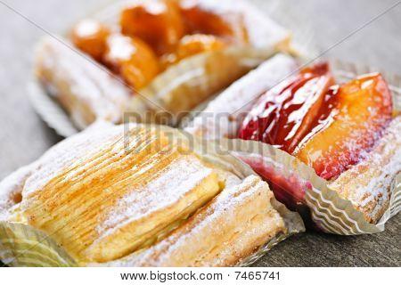 Pieces Of Fruit Strudel