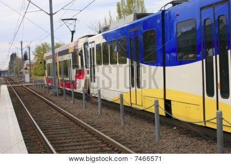 Light rail Max, Gresham OR.