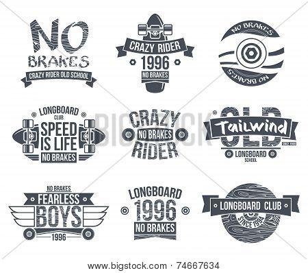 Longboard Club Emblems