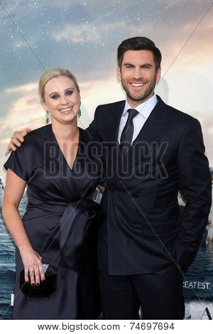 LOS ANGELES - OCT 26:  Jacqui Swedberg, Wes Bentley at the