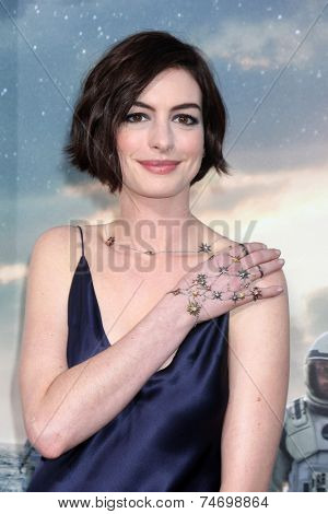 LOS ANGELES - OCT 26:  Anne Hathaway at the