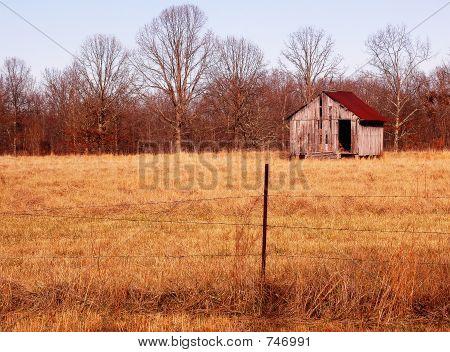 sharp barn