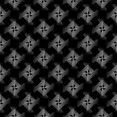 Design seamless strip geometric pattern. Abstract monochrome lines background. Vector art poster