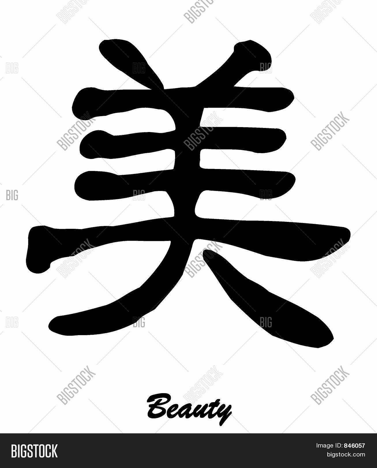 Beauty chinese character image photo bigstock beauty chinese character calligraphy biocorpaavc Images