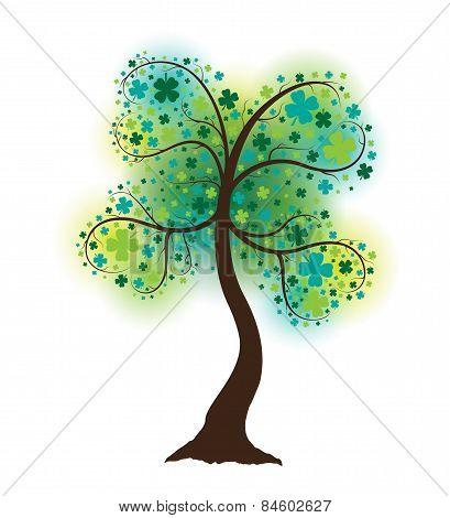 Clover Shape Tree