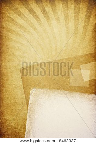 Old Letters. Vintage Abstract Background.