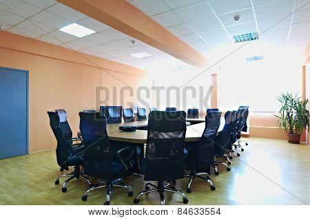 Conference room interior