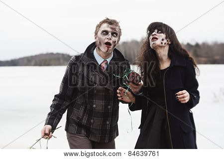Happily Diseased Infected Couple