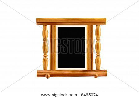 Simple Unusual Lacquered  Pine  Frame