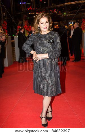 BERLIN, GERMANY - FEBRUARY 14: Hannelore Elsner attends the Closing Ceremony of the 65th Berlinale International Film Festival on February 14, 2015 in Berlin, Germany