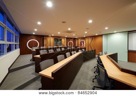 Big empty auditorium / Conference room
