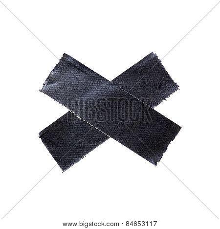 Black Matte Cloth Tape