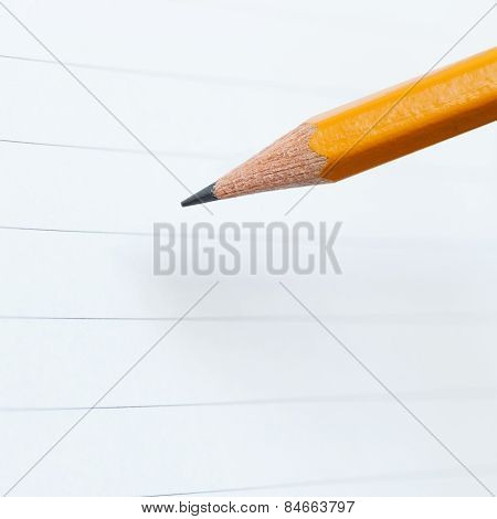 Pencil And Notebook Paper