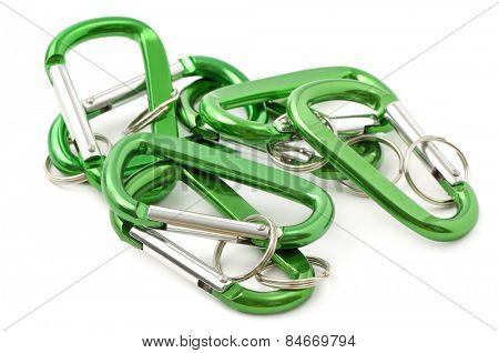 key ring isolated on white background