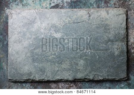 Gray Stone Slate Background Texture