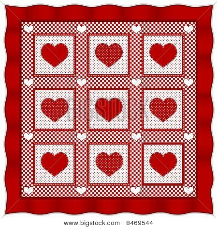 Heart Of Hearts Quilt