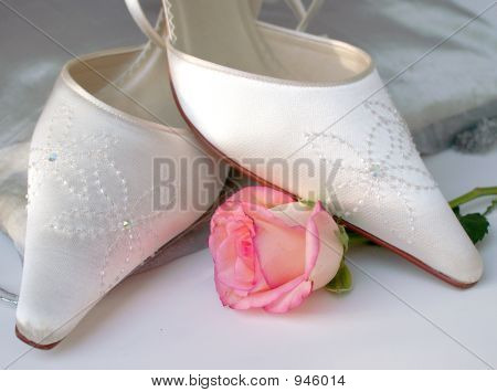 Satin Wedding Shoes