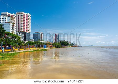 Guayaquil And Guayas River