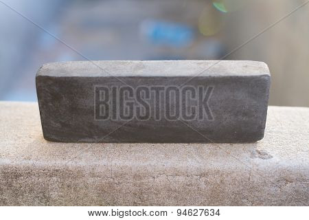 Stone For A Kitchen Knife.