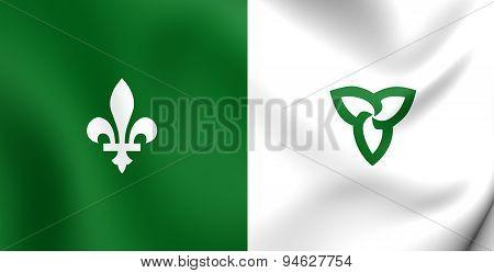 Franco-ontarian Flag