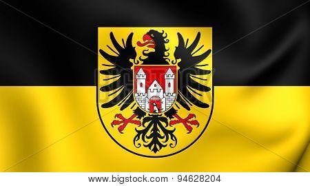 Flag Of Quedlinburg, Germany.