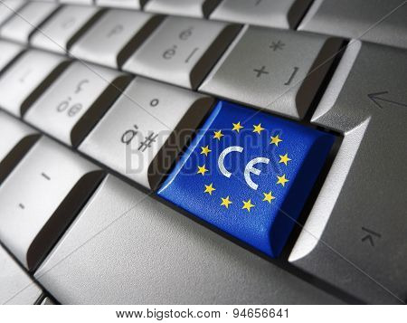 European Union Flag Ce Marking