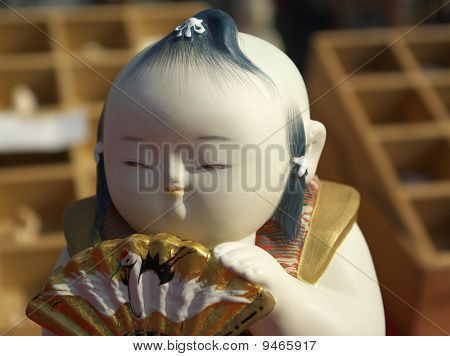 Small Japanese Figurine