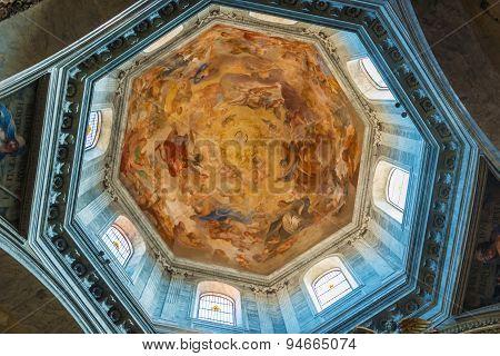 Interior Of Church Of Santa Maria Del Popolo