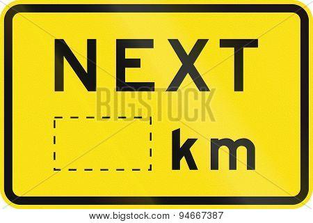 Next Kilometers In Australia