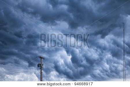 Angry Storm Clouds Over Ohio